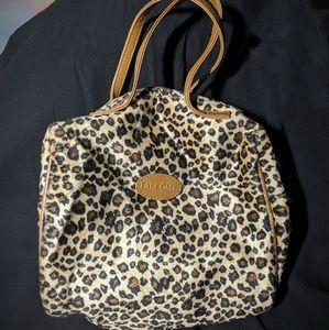 Lancome Cheetah Makeup Bag